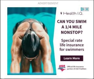 Health I.Q. Swimmer PPC Ad