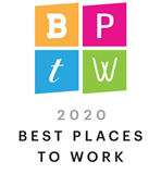 Milwaukee Business Journal Best Places to Work Logo for 2020